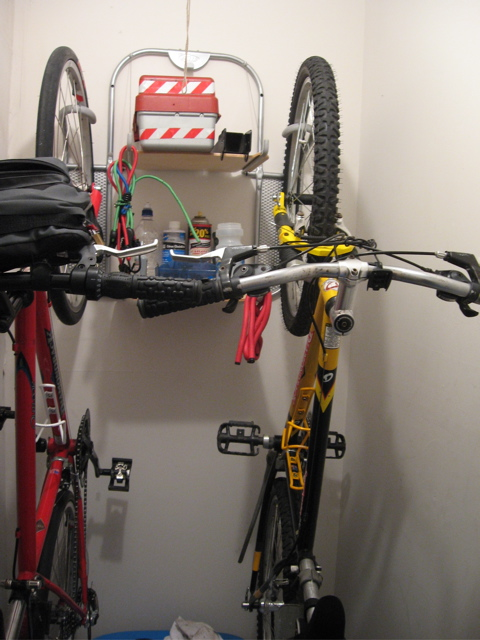 Superieur I Finally Got My Delta Vincent Bike Rack Set Up Last Night. Since Itu0027s  Hiding In The Storage Closet, Iu0027m Also Using It To Hold Most Of My Bicycle  Tools And ...